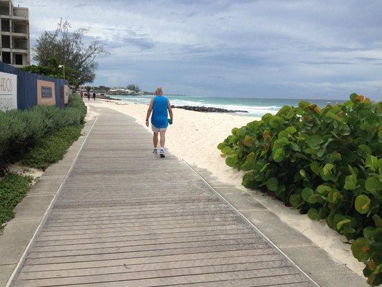 South Coast Boardwalk: Looking South on the Board Walk