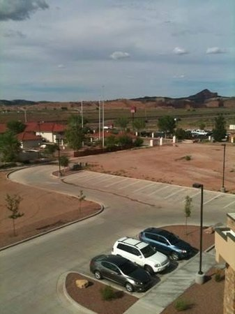 Holiday Inn Express & Suites Gallup East: Picture from our window