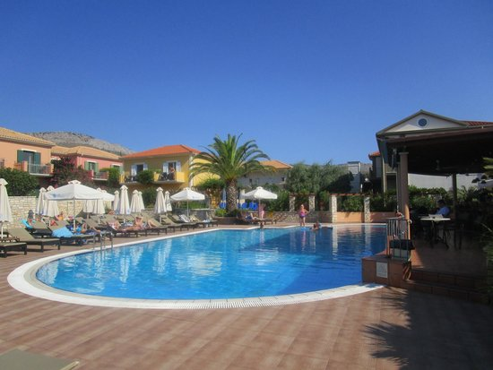 9 Muses Hotel Skala Beach : pool area