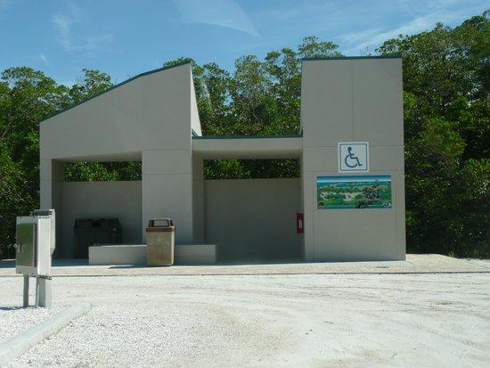Tigertail Beach : New Restroom