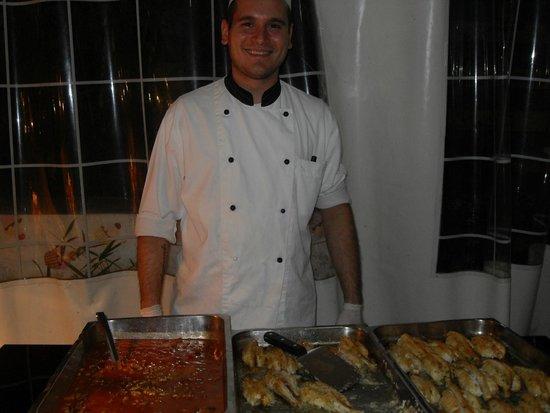 Club Family Hotel Executive : uno dei pilastri della cucina !!!