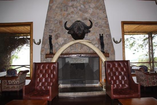 Mweya Safari Lodge: il bar