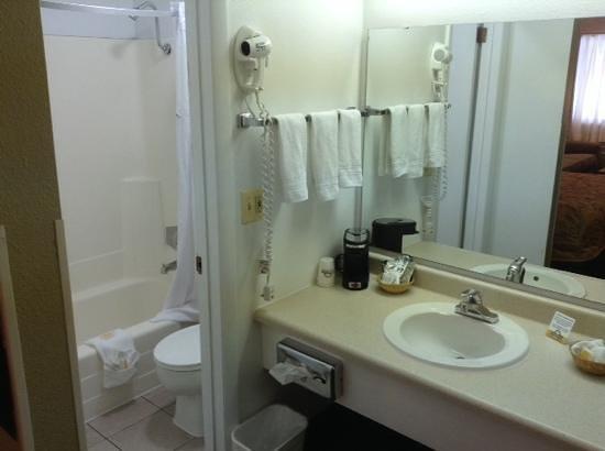 Days Inn Provo: bathroom