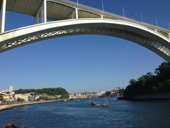 Novotel Porto Gaia: River + Bridge 10 mins walk from hotel