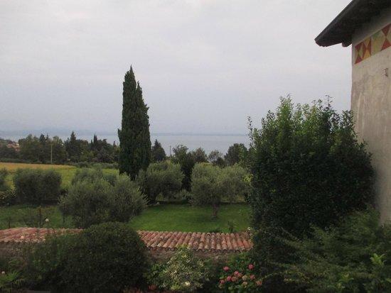 Locanda del Gardoncino: Vista dalla terrazza della camera