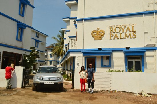Royal Palms : The Entrance