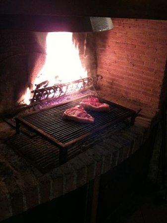 Locanda Amordivino : fiorentine in cottura