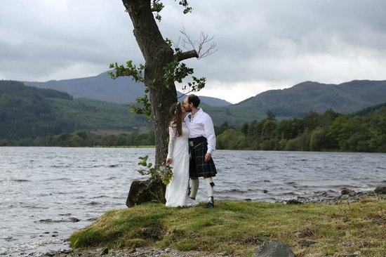 Altskeith Country House: A lochside kiss