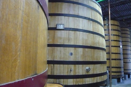 New Belgium Brewing: Barrels in the Wood Forest for sour ale