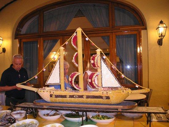 Albergo Terme La Reginella: tavolo delle insalate