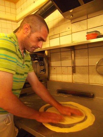 Piccadilly pizza : le pizzaiolo