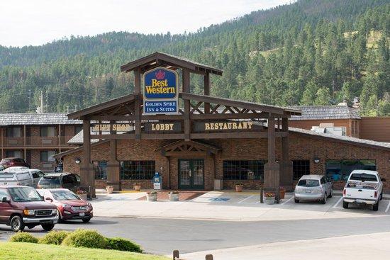Best Western Golden Spike Inn & Suites : Goed hotel in Hill City