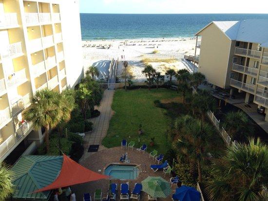 Hilton Garden Inn Orange Beach : View from room 604