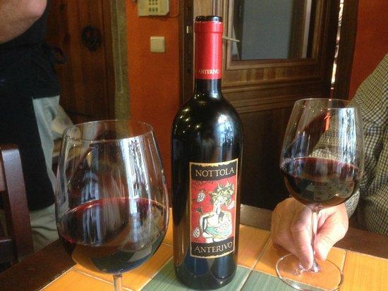 Our wine at Il Gallo Nero