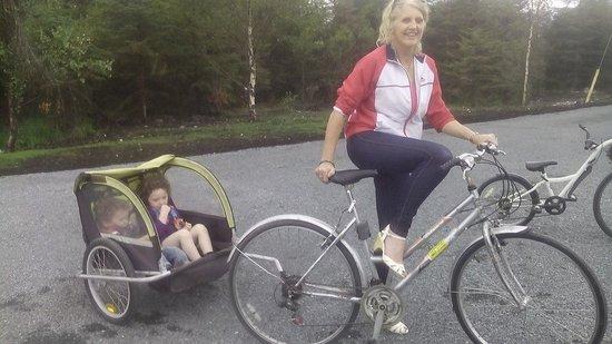 Lough Boora Parklands : On my nellie..