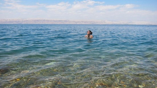 O Beach: Dead Sea alone!