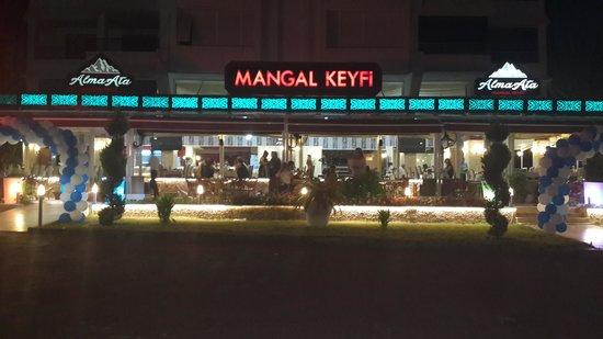 Alma-AtA Mangal keyfi