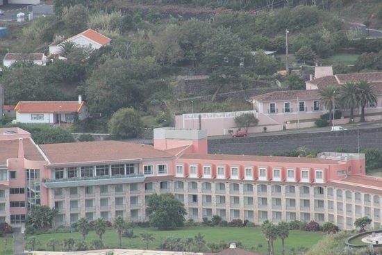 Terceira Mar Hotel: Hotel visto do Monte Brasil
