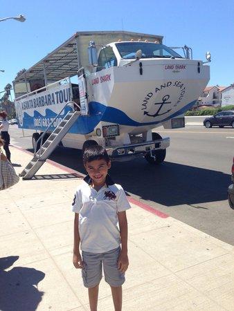 Santa Barbara Land Shark: Wetting ready