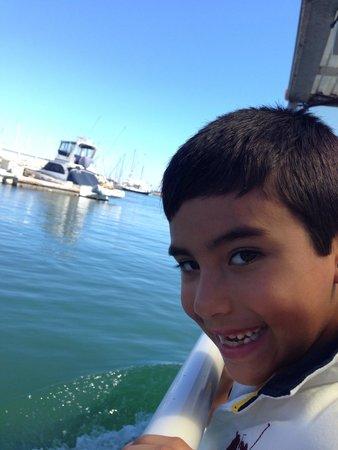Santa Barbara Land Shark: Surprise!! to the ocean we go