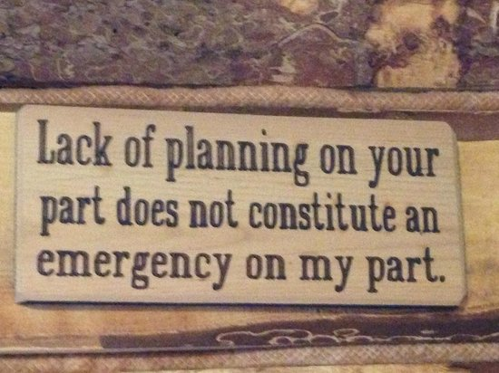Tererro, NM: Sign on wall in dining area