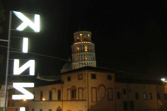 Hotel Villa Kinzica: Вид с балкона