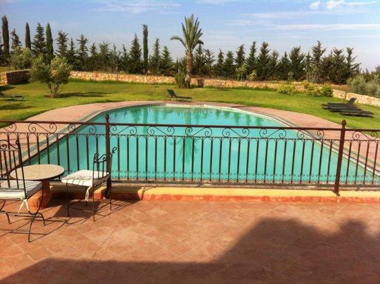 Riad Le Ksar de Fes: La piscine