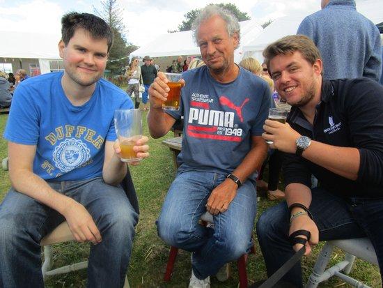 Lessingham, UK: Beer festival