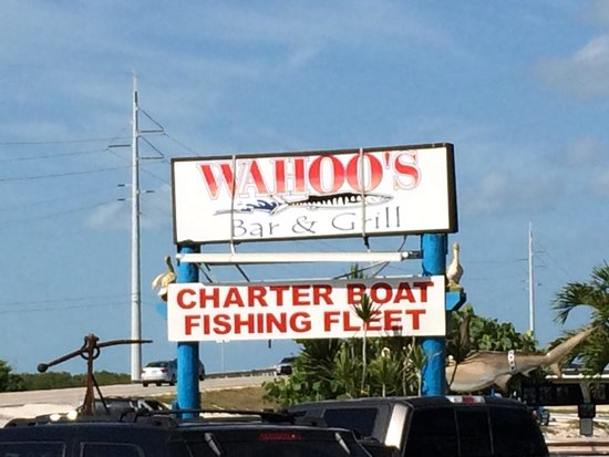 Wahoo's Bar and Grill: The Name says it all....it's a great place