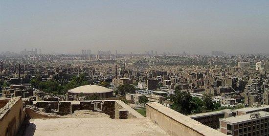 Mosquée Mohammed Ali : Widok z Cytadeli na Kair