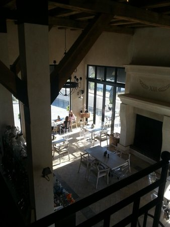 Tredici: from first floor to ground