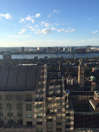 The Westin Copley Place, Boston: Room with a view