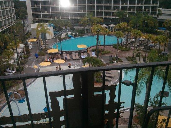 Sheraton Lake Buena Vista Resort: the view from my balcony