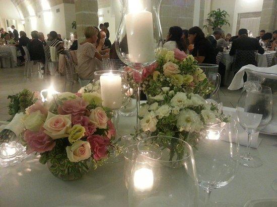 Maglie, Italy: Addobbi al tavolo