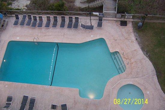 Indigo Inn : pool from 8th floor