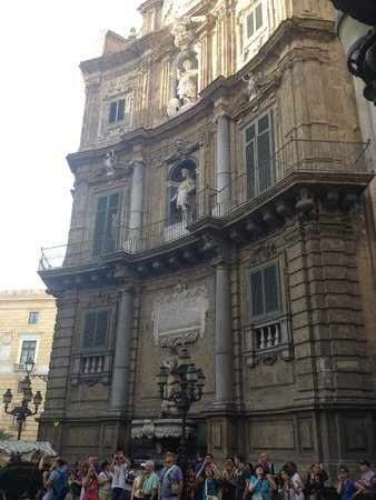 Hotel Palazzo Sitano: 1 dei 4 angoli