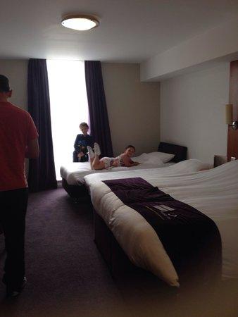 Premier Inn Belfast Titanic Quarter Hotel: Comfy ��