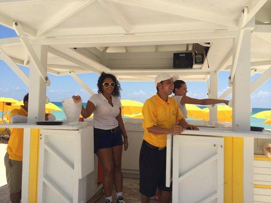 Hilton Cabana Miami Beach: Great Staff at the Beach
