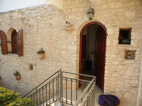 Cretan Villa Hotel & Apartments : Entrata della nostra camera nr.8
