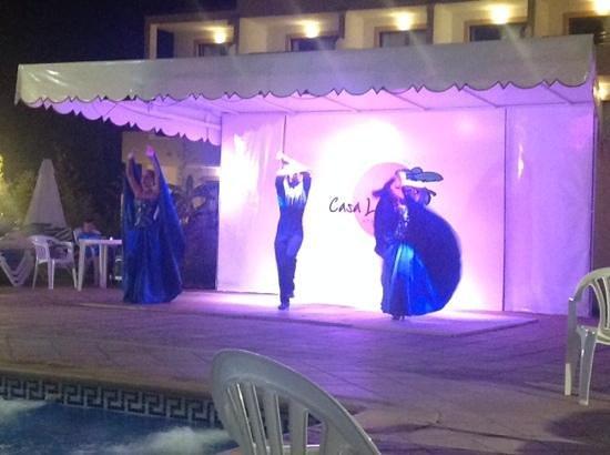 Apartamentos Casa Luis : Great flamenco dancers