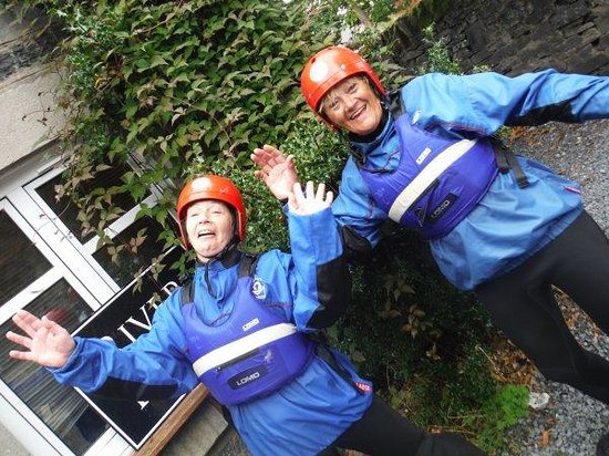 Splash White Water Rafting: Two mad Females