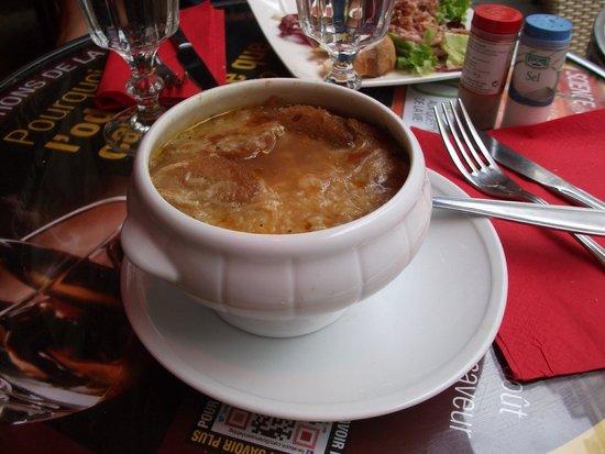 Le Sainsev': Zuppa di cipolle