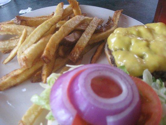 Graham Soda Shop: burger