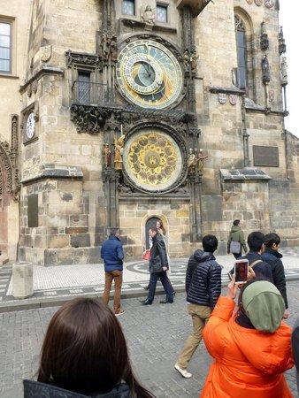 Grand Majestic Plaza: astronomical clock