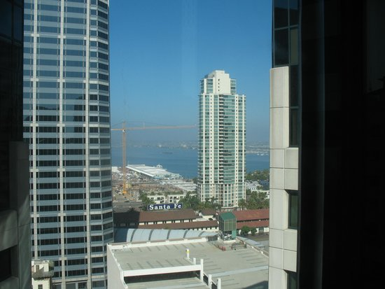 The Westin San Diego : Westin San Diego --- Small bay view from the room 1911