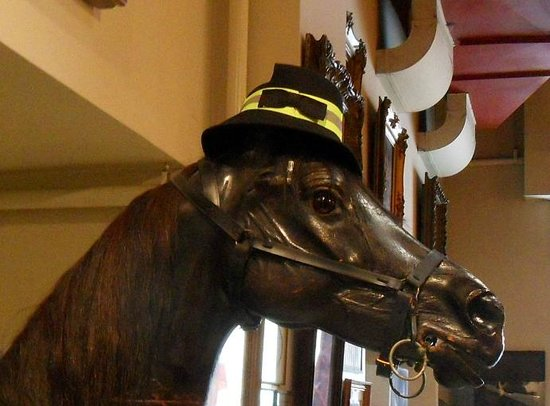 New York City Fire Museum : FDNY Museum horse
