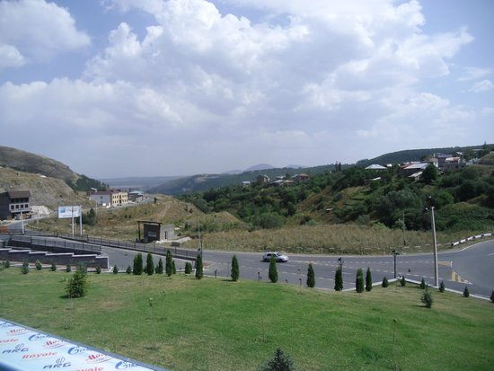 Tsaghkadzor Marriott Hotel: View from the hotel