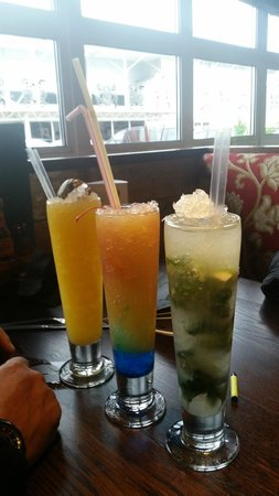 Chiquito - Bristol - Aspects: Yucatan Breeze, Mock-jito and Rainbows and Dreams Mocktails