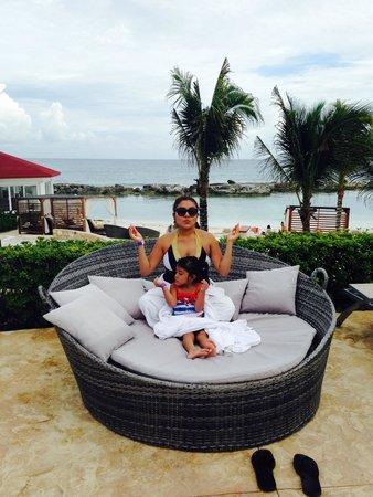 Hard Rock Hotel Riviera Maya: Pasandola rico!!