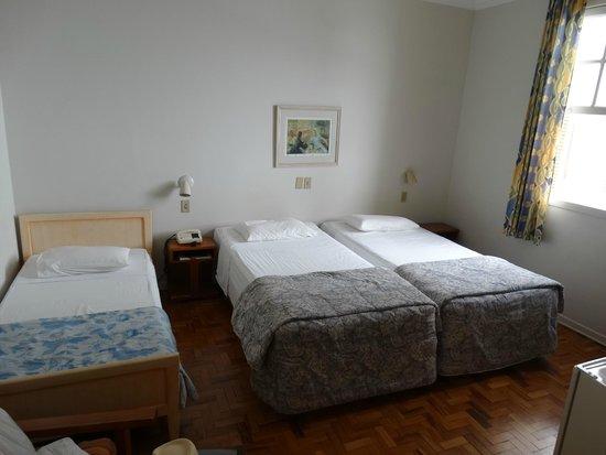 Hotel Jerubiacaba : Quarto podre!